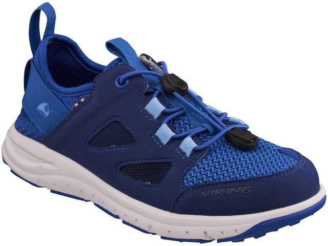 Viking Footwear Bjerke Scarpe Bambino, dark blue/blue